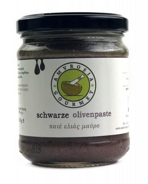 schwarzes Olivenpaste 190gr