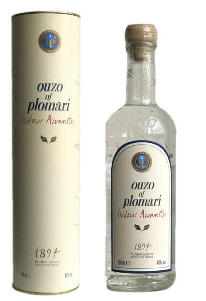 Ouzo Plomari 40% 0,7 Liter